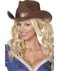 Wild West Cowboy Hat Costume Accessory