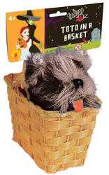Wizard of Oz Toto in Basket Costume Accessory