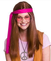 Women's Woodstock Hippie Kit Brown Costume Accessory