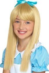 Wonderland Princess Girls Wig Costume Accessory