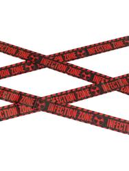 Zombie Infection Zone Caution Tape Costume Accessory