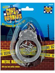 Metal Handcuffs Costume Accessory