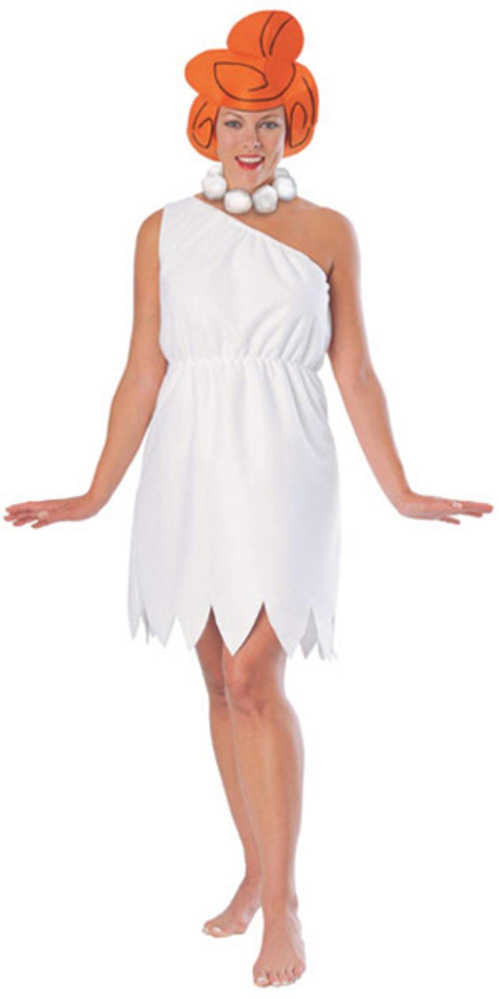 Wilma Flintstones Adult Fancy Dress Cartoon Character Flintstone Ladies Costume