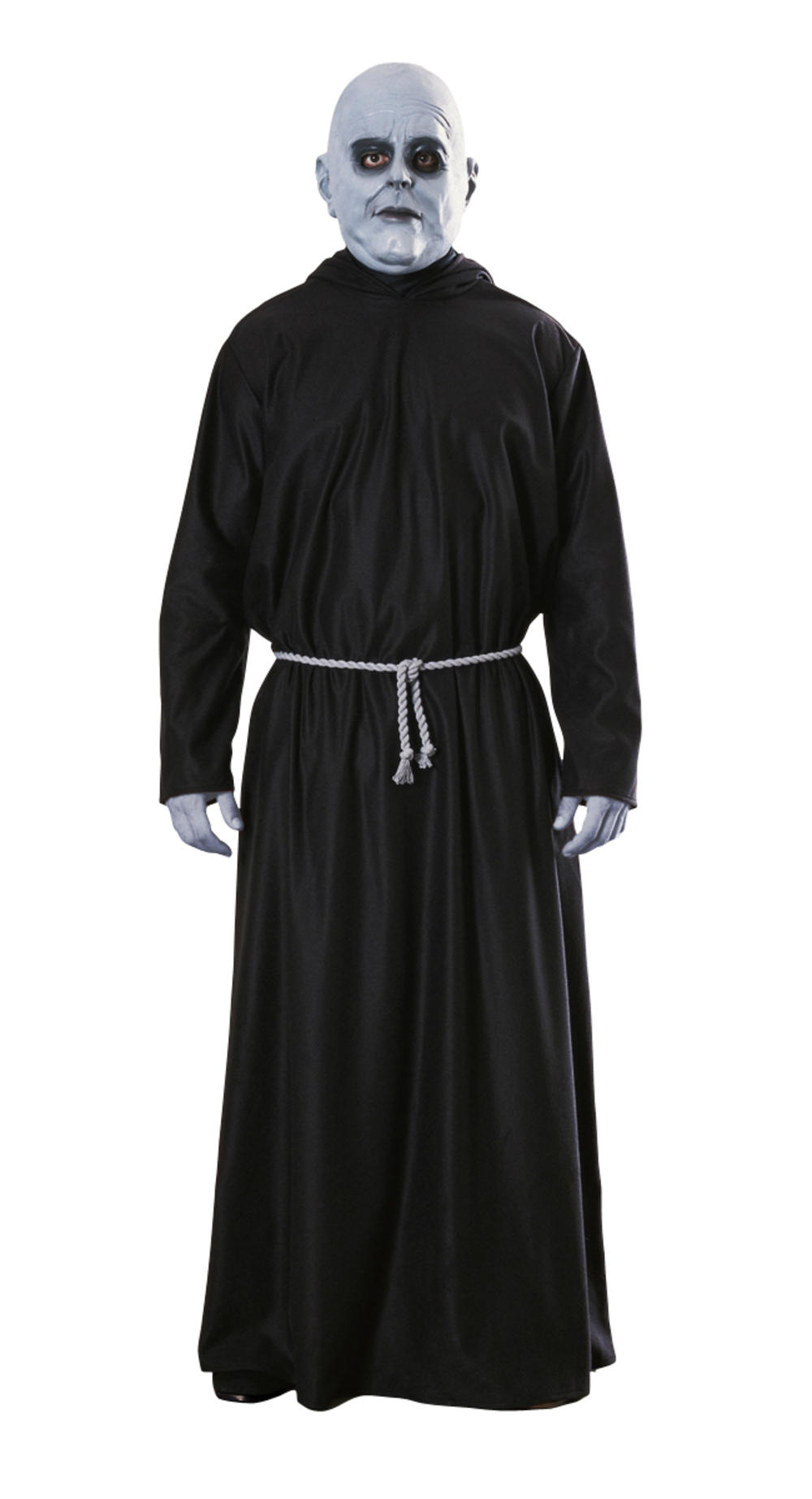 Deluxe Uncle Fester Men's Fancy Dress Addams Family Halloween Adult Costume New
