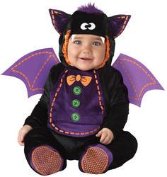 Baby Bat 0-24 Months Fancy Dress Animal Halloween Boys Infant Childs Costume New