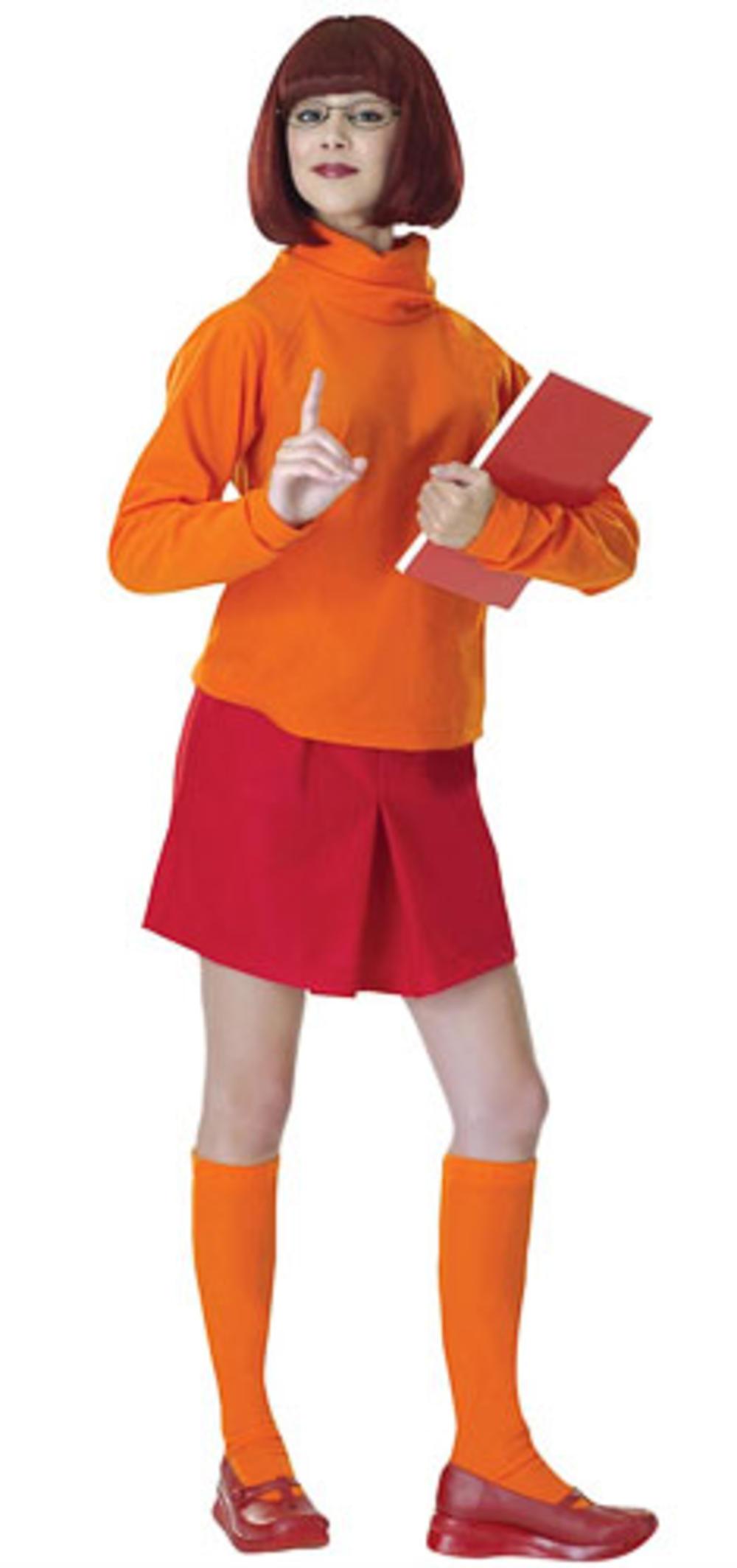 Velma Scooby Doo Costume & wig