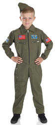 Kids Air Cadet Boy Costume