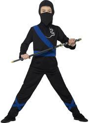 Ninja Assassin Boys Fancy Dress National Japanese Book Day Childrens Kid Costume