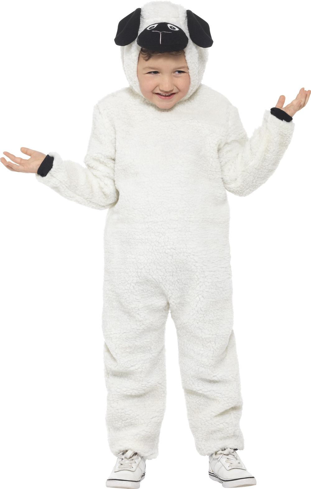 Sheep Kids Fancy Dress Farm Animal Lamb Girls Boys Jumpsuit Costume Outfit New
