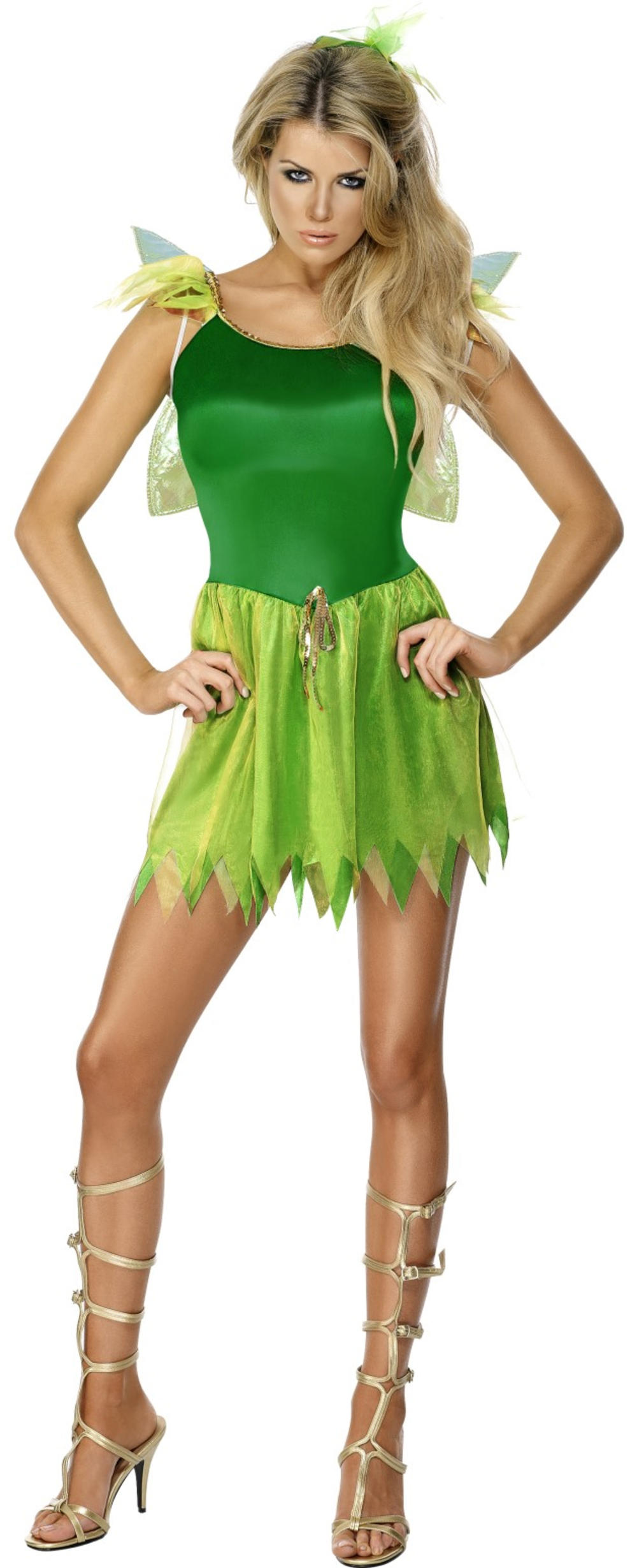Woodland Fairy Ladies Fancy Dress Pixie Fairy Tale Adult Book Day Costume Outfit