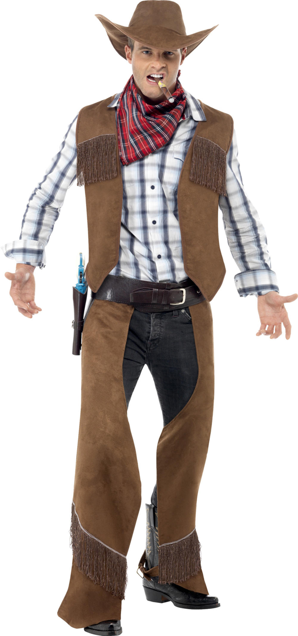 Fringe Cowboy Mens Costume