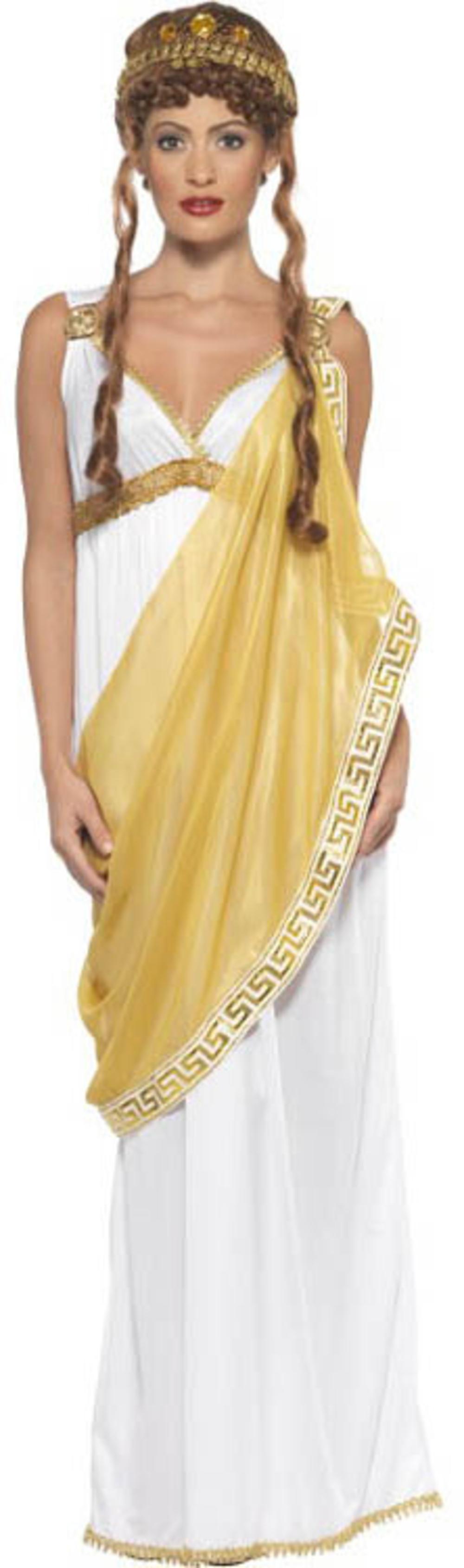 Helen of Troy Ladies Ladies Fancy Dress Ancient Greek Roman Adult Costume Outfit