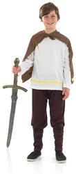 Viking Warrior Boys Fancy Dress Historical Medieval Book Week Kids Child Costume