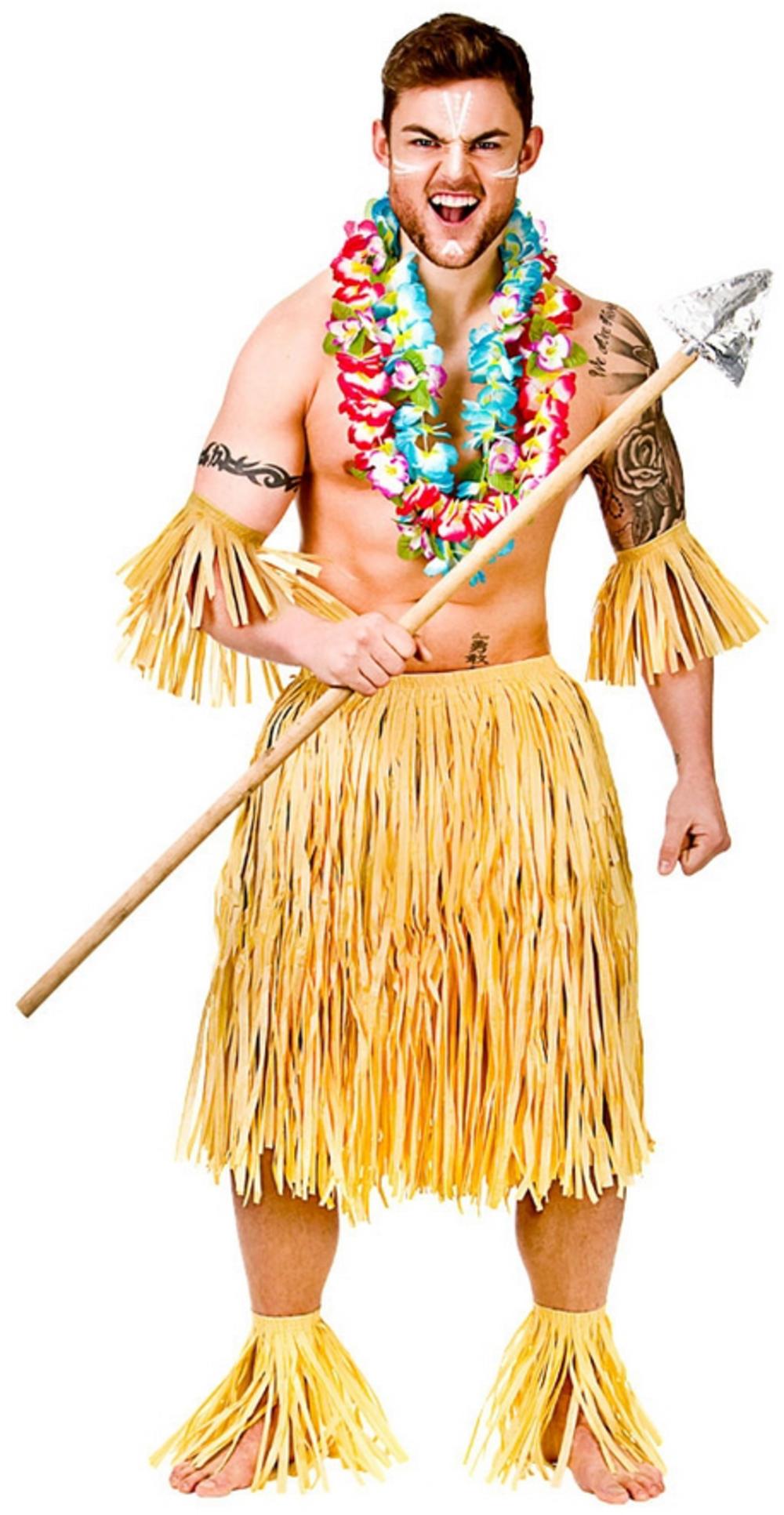 Zulu Warrior Costume Set