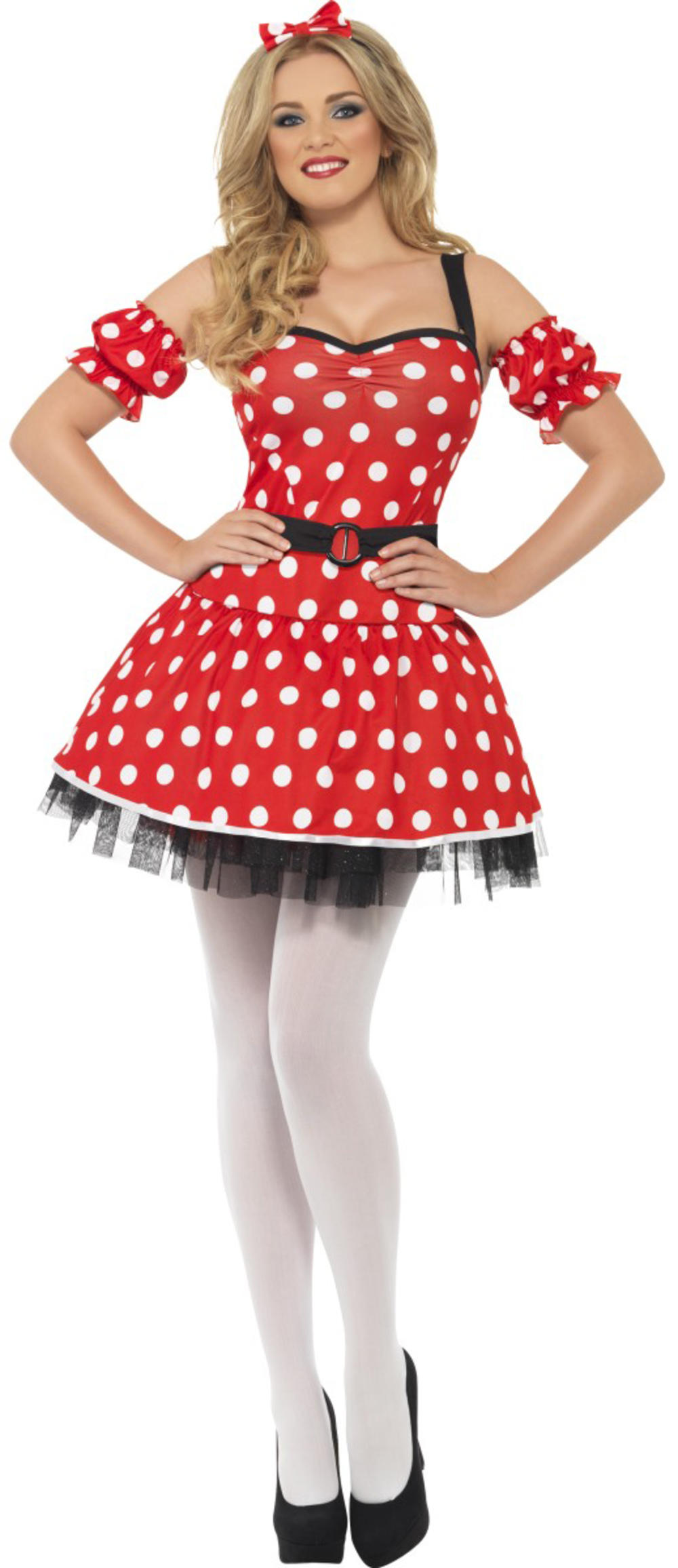 Fever Sexy Madame Mouse Ladies Fancy Dress Cartoon Animal Womens Adults Costume