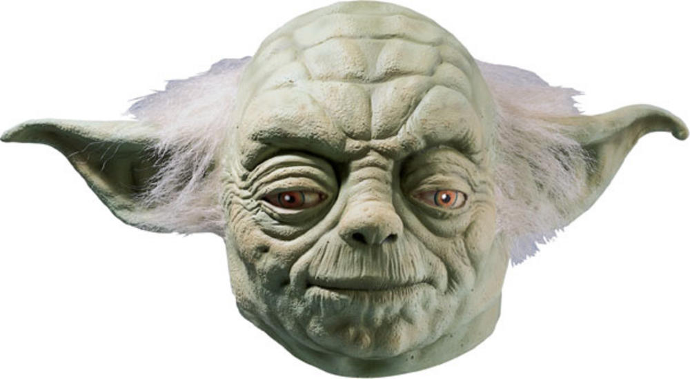 Adults' Star Wars Yoda Full Mask