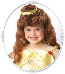 Girls Disney Princess Belle Wig