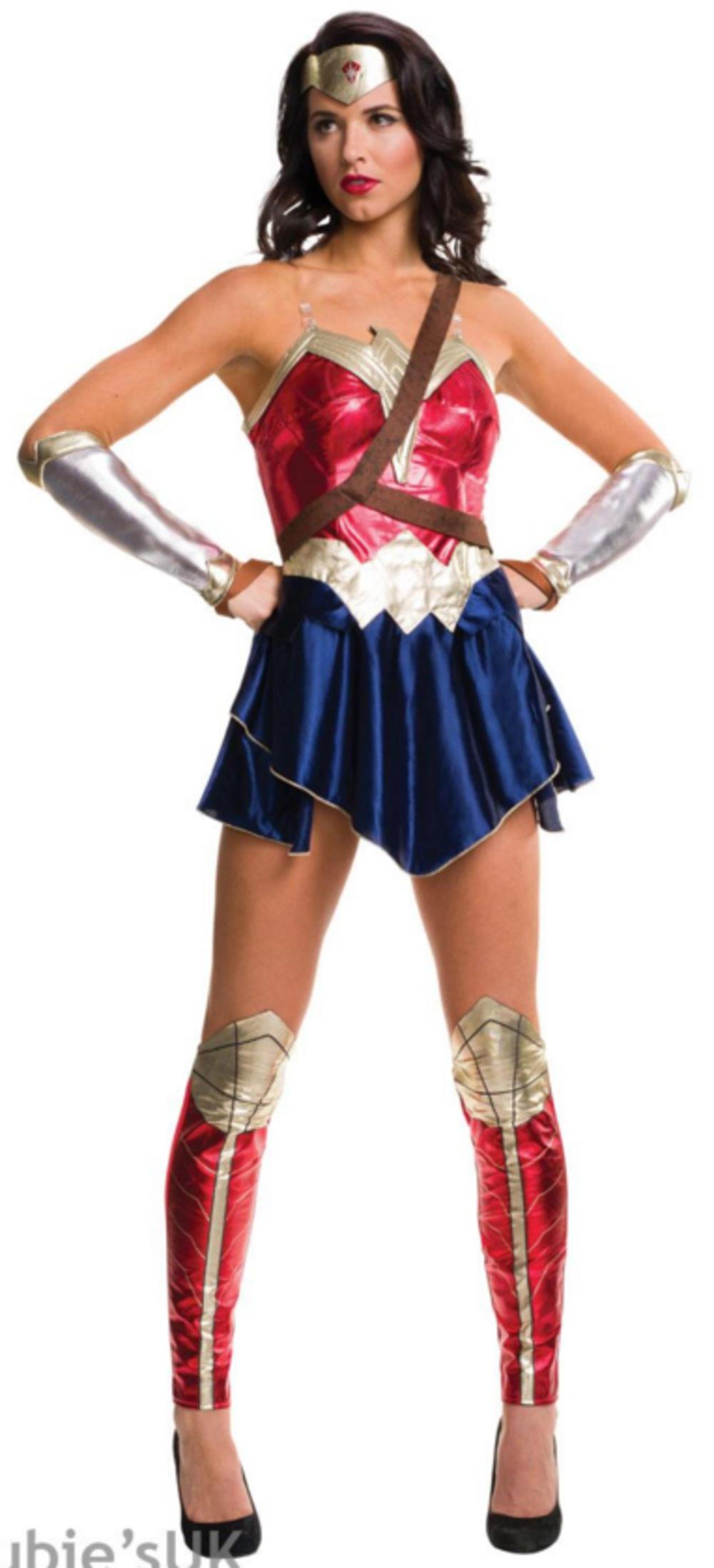Wonder Woman Ladies Fancy Dress Dawn of Justice Superhero Movie Adults Costume