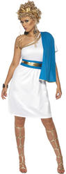 Roman Beauty Ladies Fancy Dress Ancient Grecian Greek Toga Adults Costume Outfit