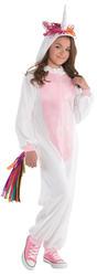 Unicorn Girls Fancy Dress Fairy Tale Zipster Jumpsuit Animal Kids Childs Costume