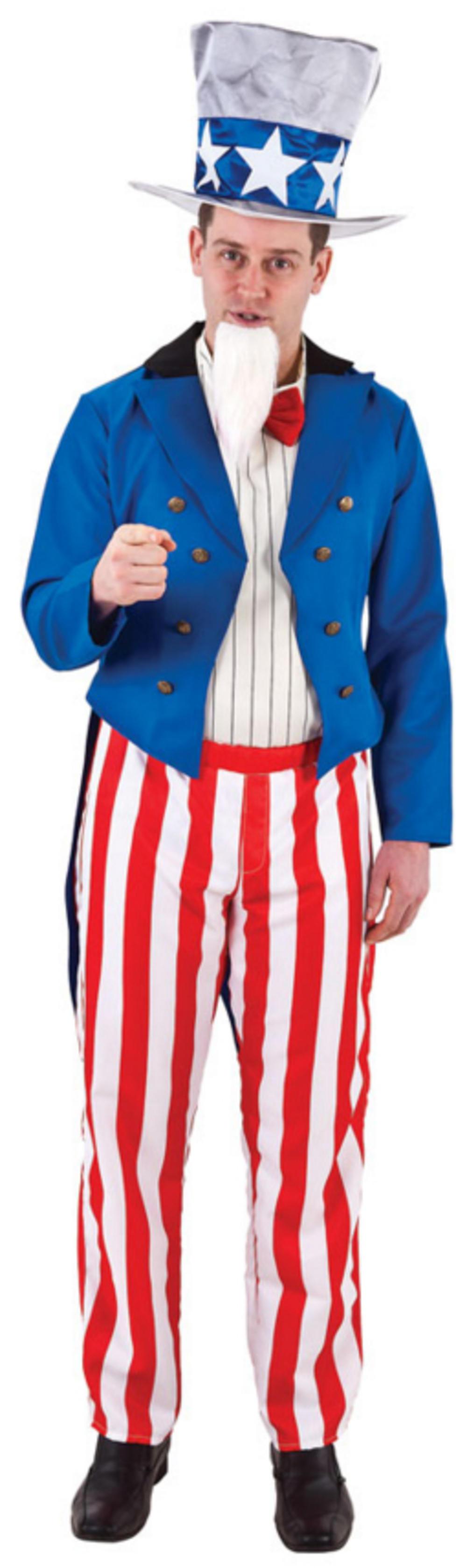 Uncle Sam Mens Costume
