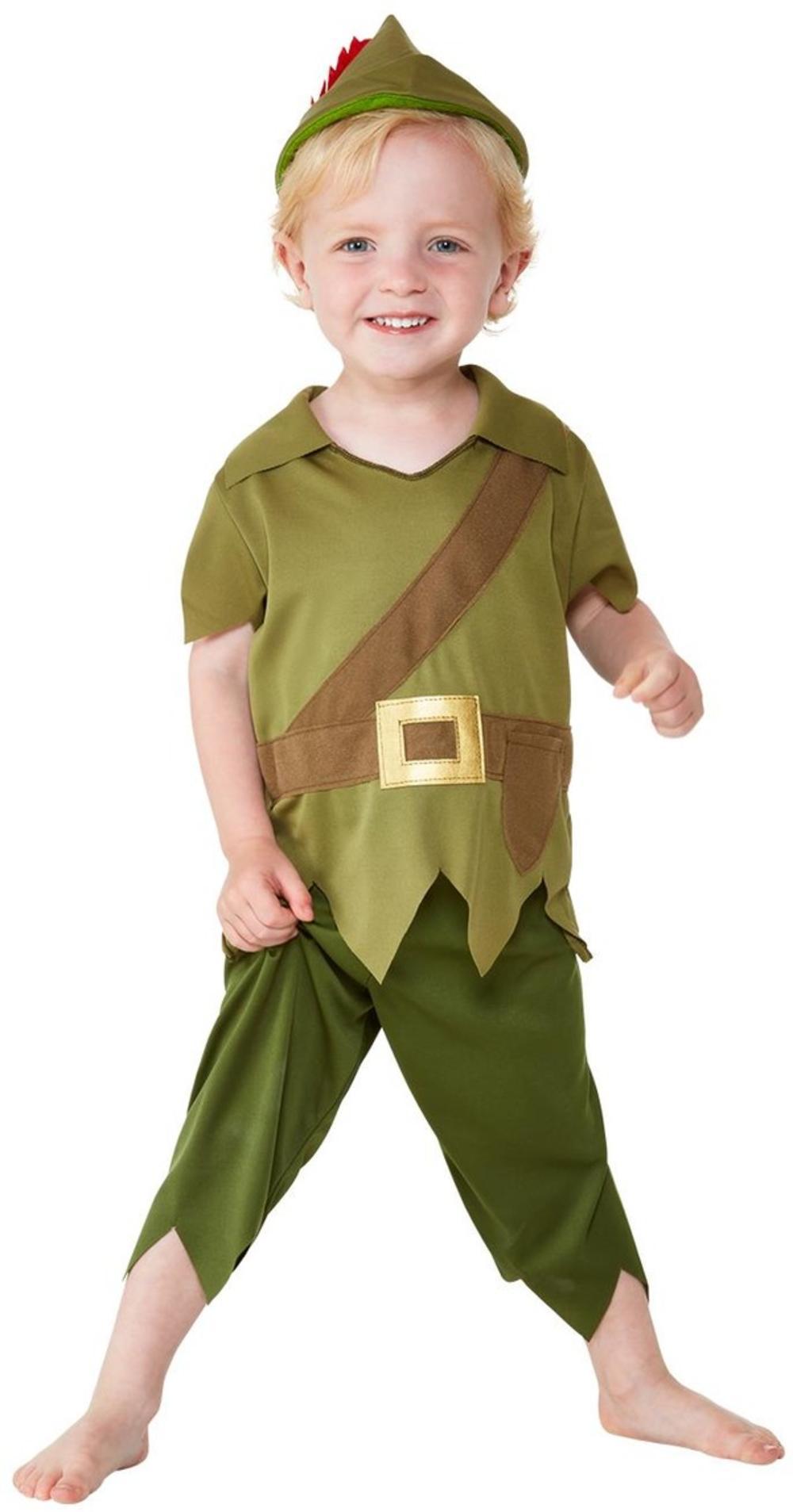 Robin Hood Boys Fancy Dress Peter Pan Medieval Kids Child World Book Day Costume