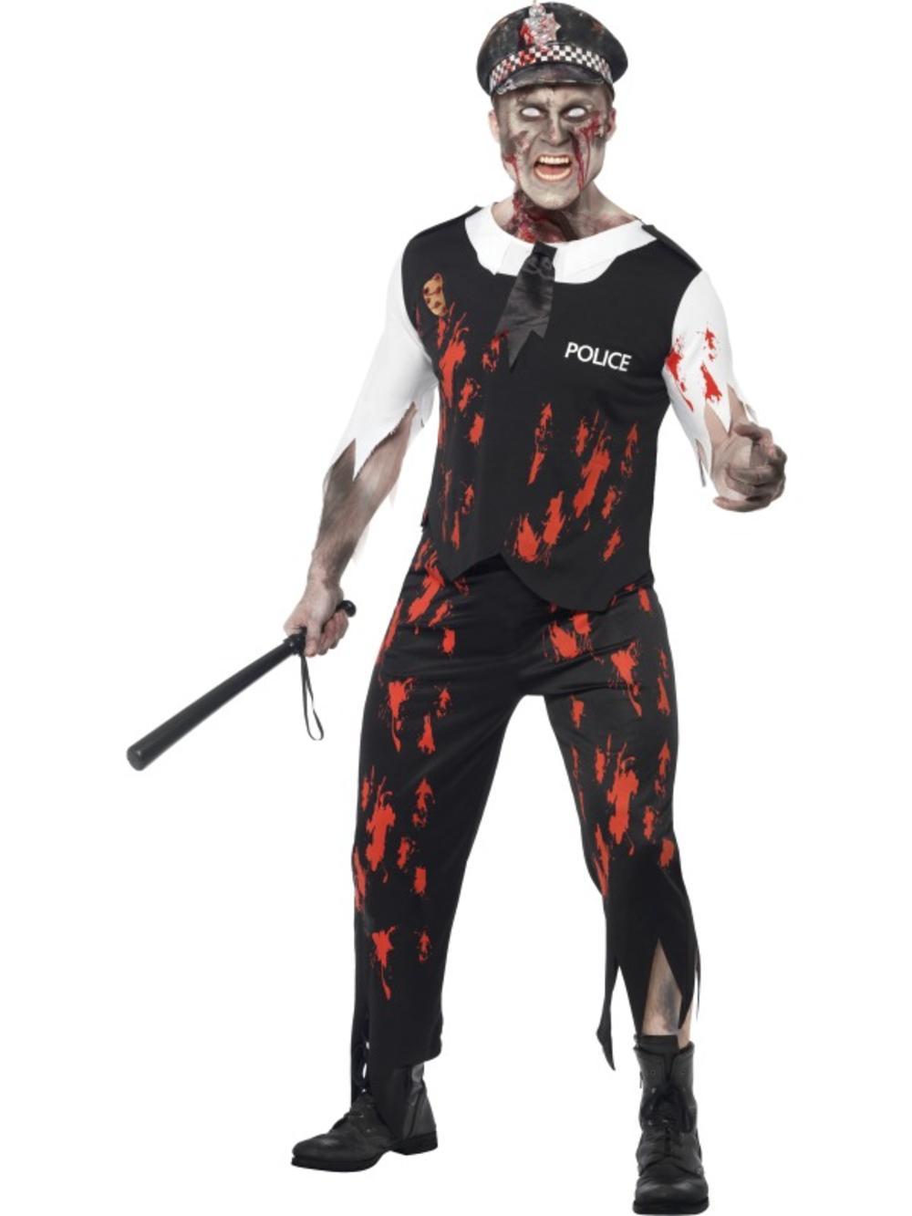 Zombie Policeman Halloween Costume