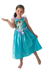Disney Jasmine Girls Fancy Dress Princess Fairytale Aladdin Kids Costume Outfit