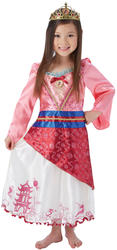 Mulan Girls Fancy Dress Disney Princess Book Day Week Childs Kids Costume Outfit