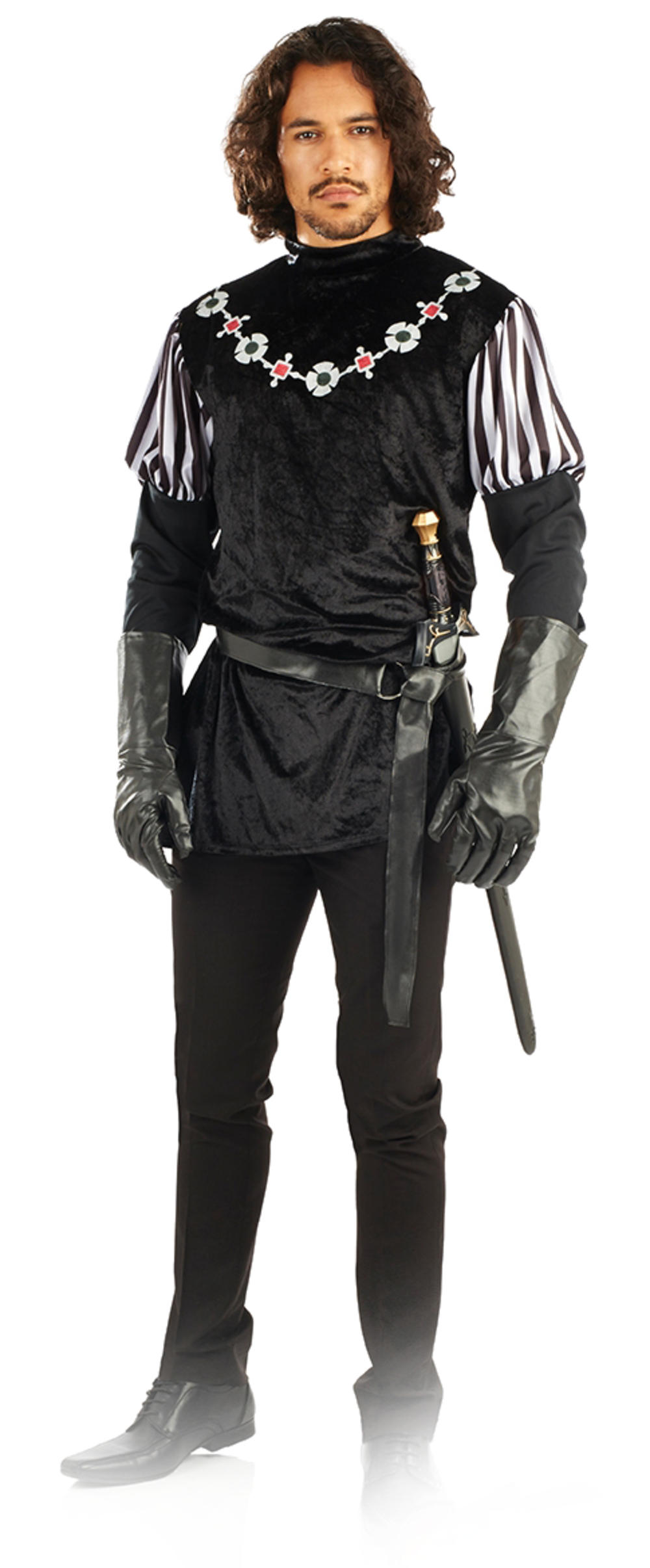Sheriff of Nottingham Mens Fancy Dress Medieval Knight Book Day Adults Costume