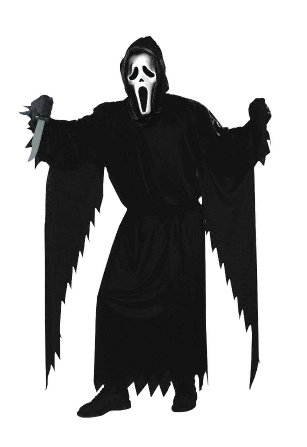 Official Scream Horror Movie Mens Halloween Fancy Dress Adult Costume Outfit New