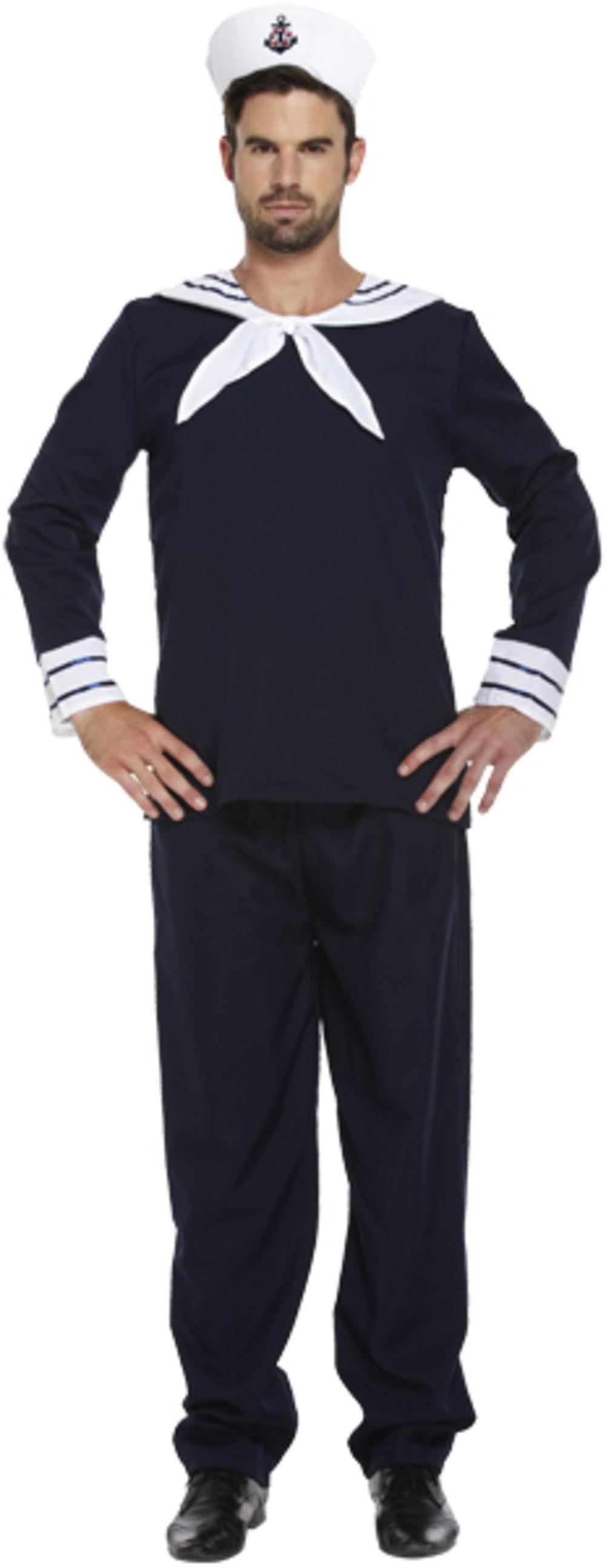 Sailor Navy Costume