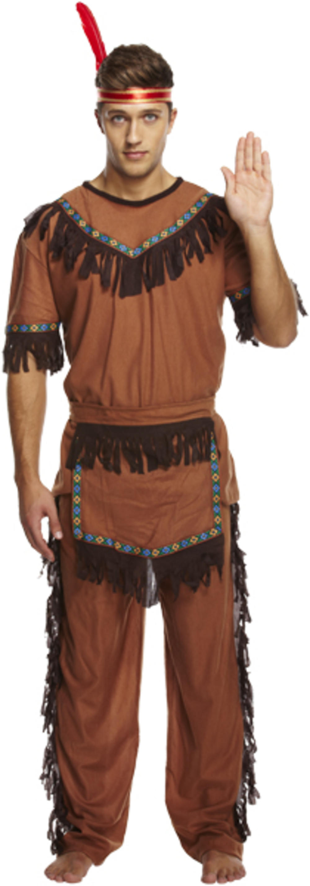 Red Indian Costume