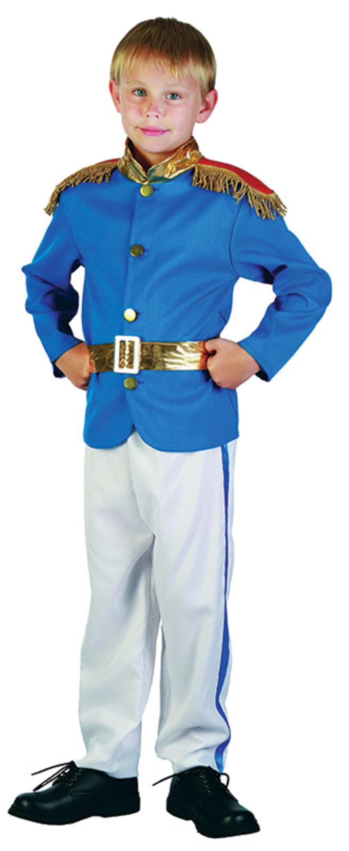 Prince Boys Uniform Fancy Dress Prince William Royal Childrens Kids Costume 4-12