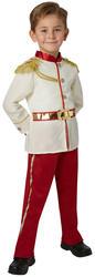 Prince Charming Boys Fancy Dress Disney Fairytale Book Day Child Kid Costume New