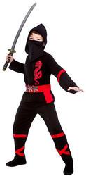 Samurai Ninja Boys Fancy Dress Japanese Martial Arts Warrior Kids Childs Costume