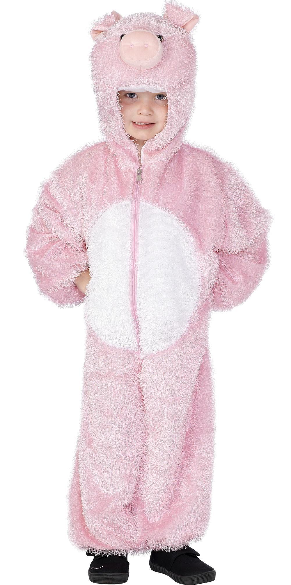 Pig Kids Fancy Dress Book Week Animal Farm Boys Girls Childrens Costume Outfit