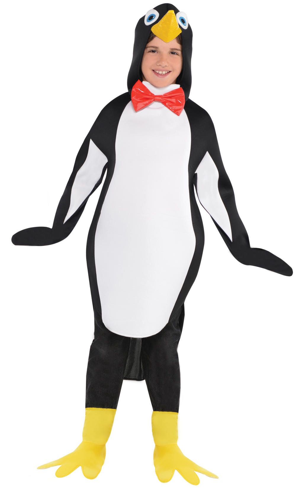 Penguin Kids Fancy Dress Festive Animal Bird Zoo Girls Boys Child Costume Outfit