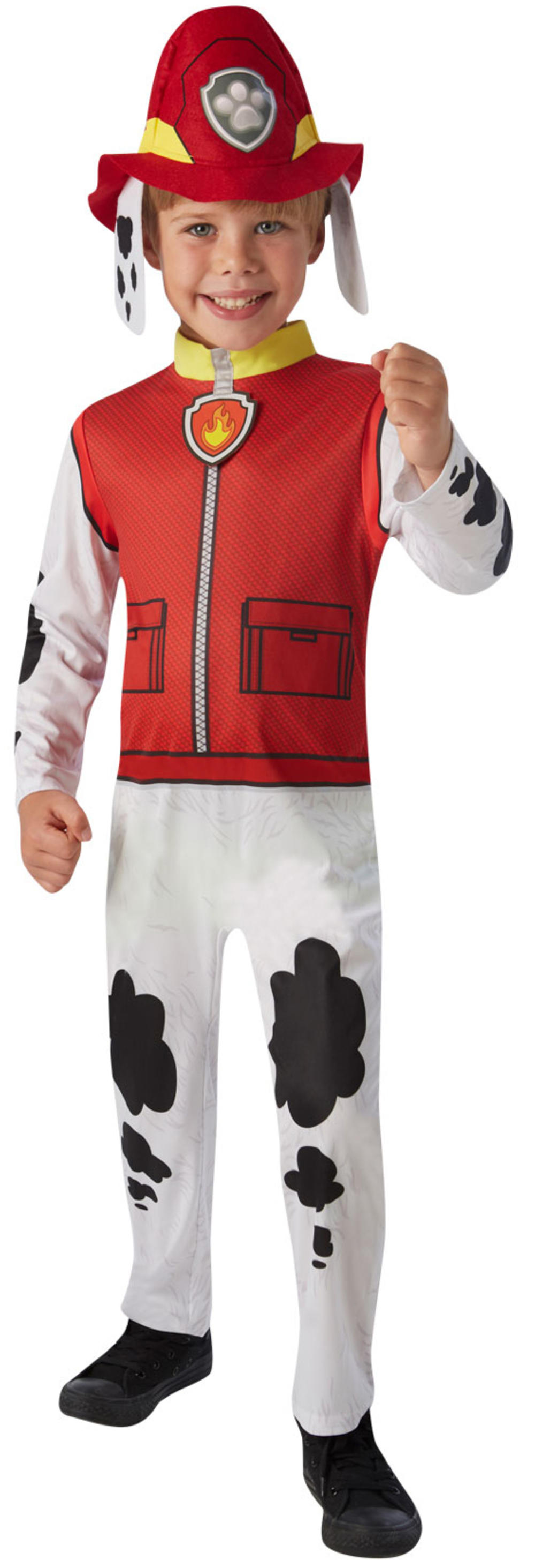 Paw Patrol Marshall Kids Fancy Dress Fire Fighter Book Day Dog Childrens Costume