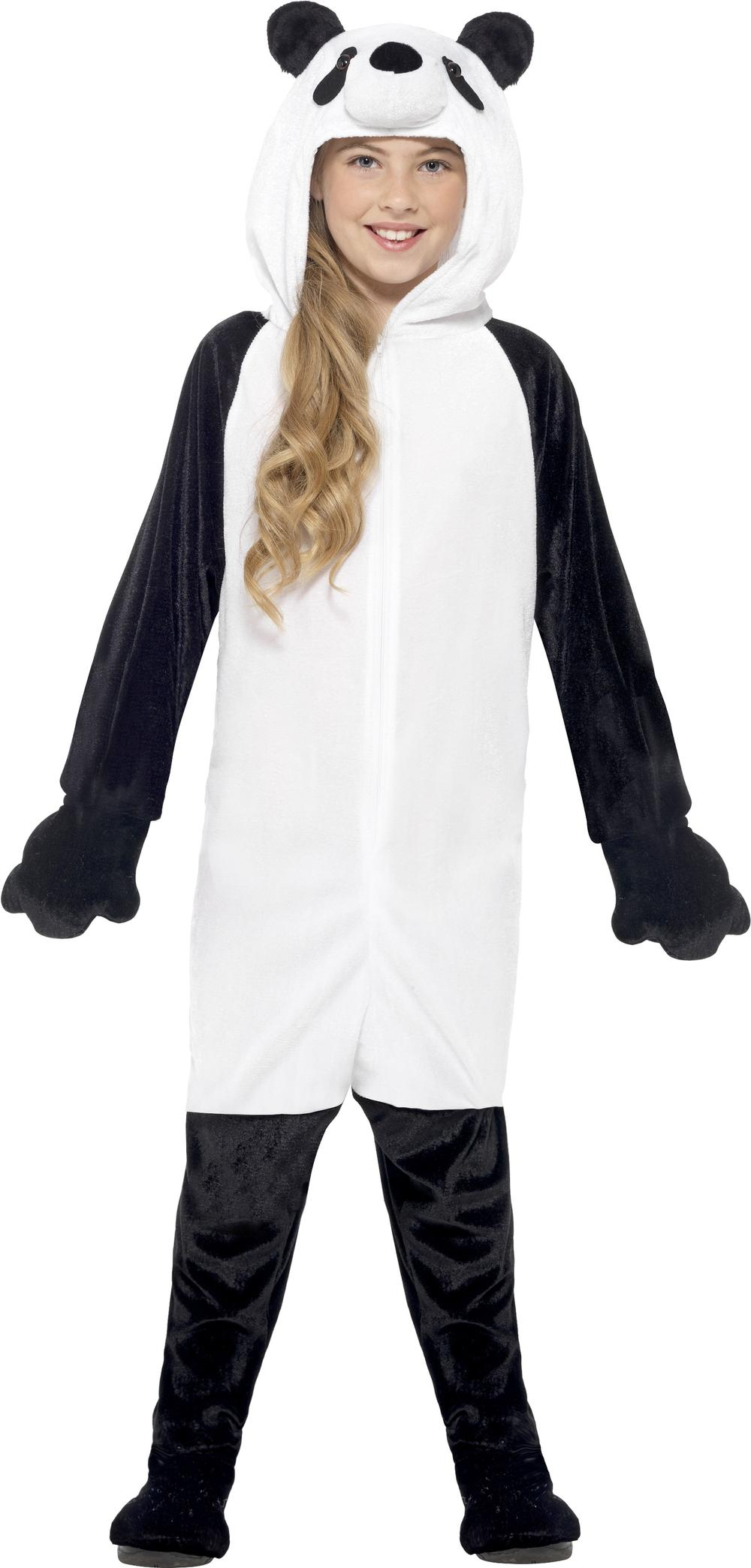 Panda Bear Kids Fancy Dress Animal Story World Book Day Girls Boys Child Costume