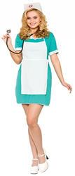 Nurse Ladies Fancy Dress Hospital Occupation Uniform Adults Womens Costume New