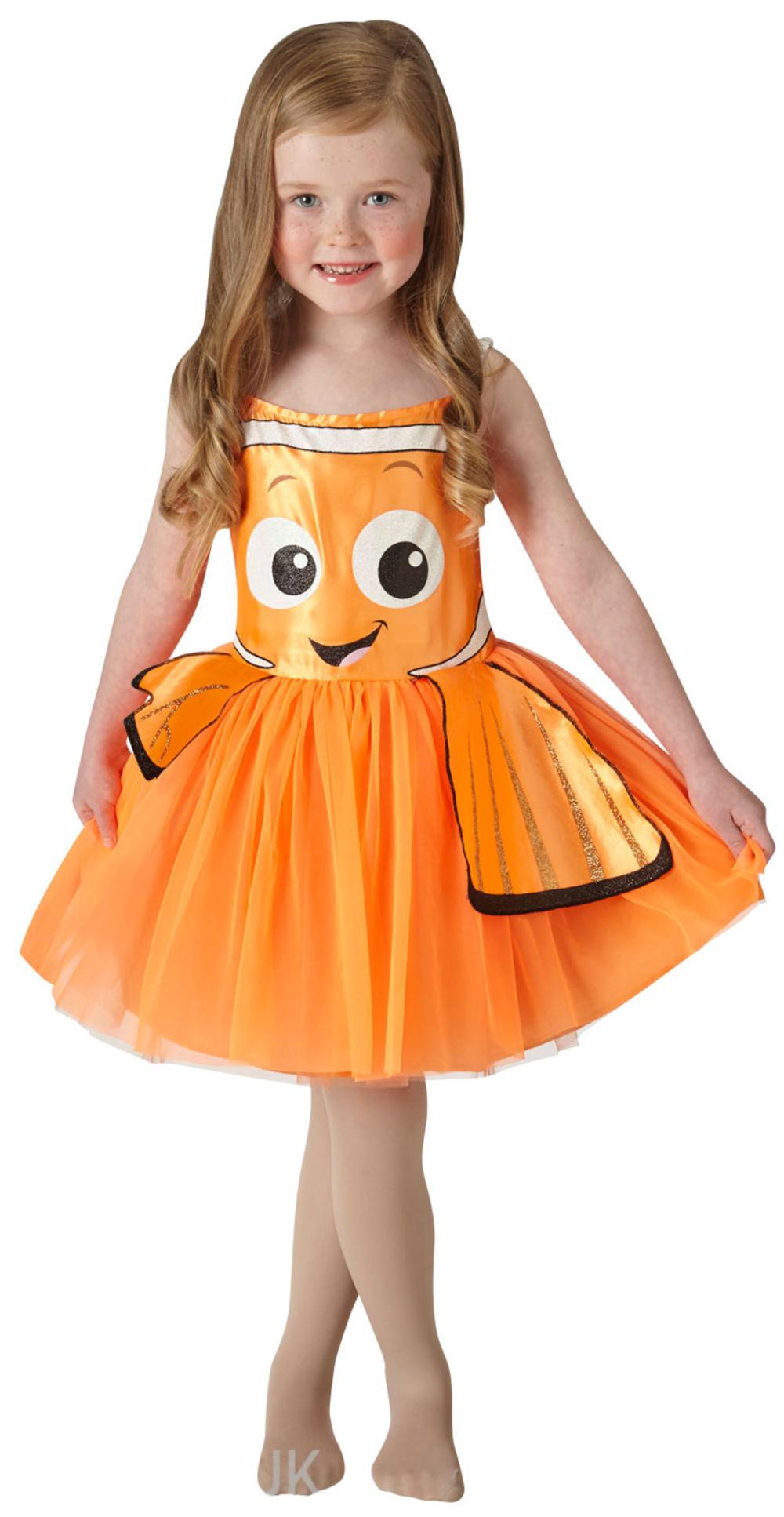Finding Nemo Fish Girls Fancy Dress Disney Childrens Book Kids Sea Child Costume