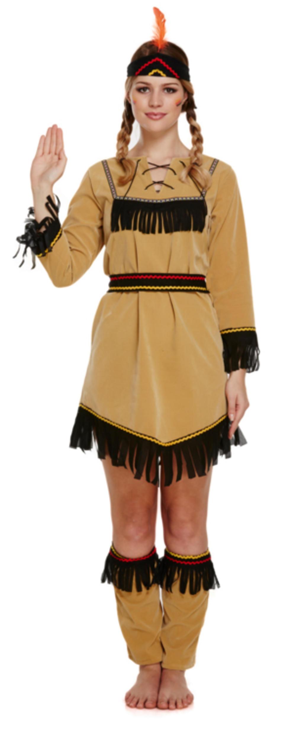 Native American Indian Women's Costume