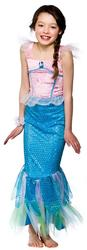 Mystical Mermaid Girls Fancy Dress Fairy Tale Sea Myth Kids Book Week Costume