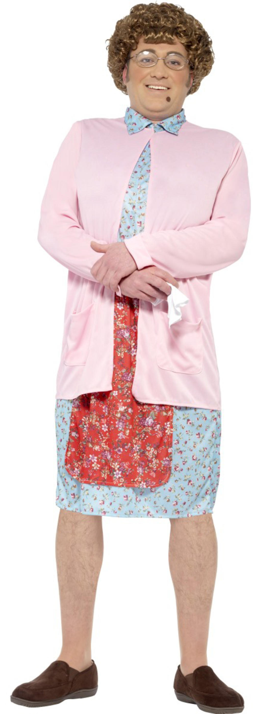 Mrs Brown Boys Mens Fancy Dress TV Film Comedy Adults Novelty Costume Outfit