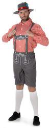 Oktoberfest Mens Fancy Dress Bavarian German Festival Lederhosen Adults Costume