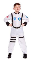 Astronaut Boys Fancy Dress Space Man NASA Kids Childrens Uniform Kids Costume