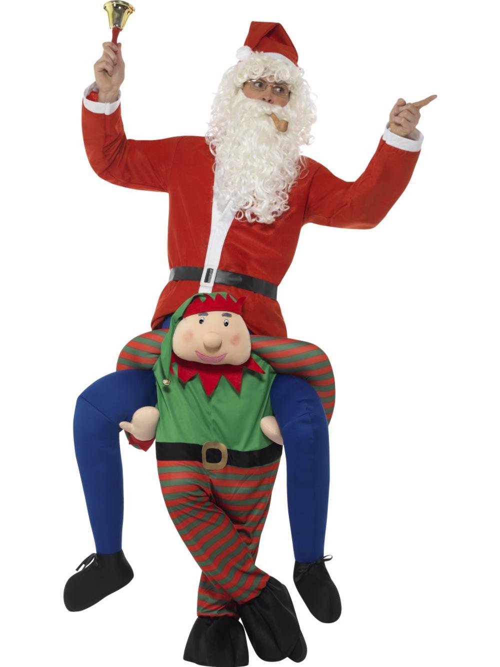 Piggyback Elf Costume