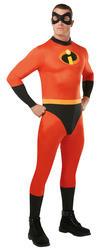 Mr Incredible Mens Fancy Dress Disney Superhero The Incredibles 2 Adults Costume