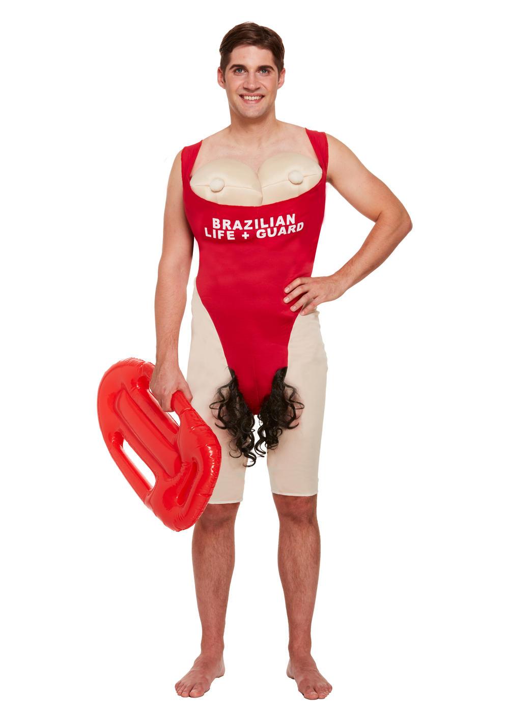 Mens Beach Lifeguard Costume